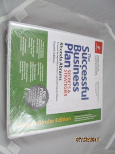 9780974080109: The Successful Business Plan: Secrets & Strategies