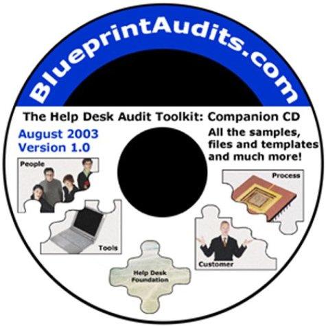 The Help Desk Audit Toolkit: Companion CD: Julie L. Mohr