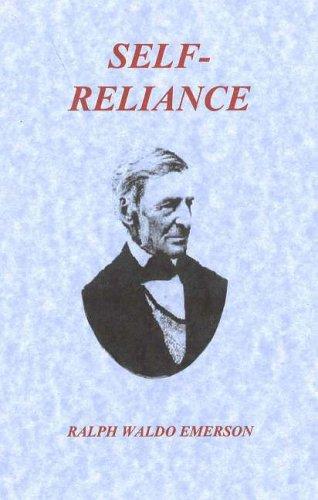 9780974086828: Self-Reliance