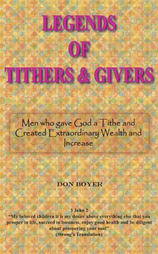 9780974118192: Legends of Tithers and Givers