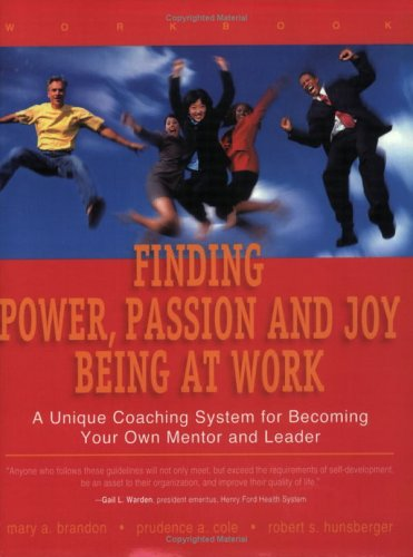9780974134529: Finding Power, Passion and Joy Being at Work