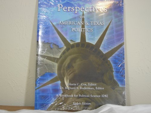9780974151403: Perspectives on American and Texas Politics - Workbook for Political Science 1040