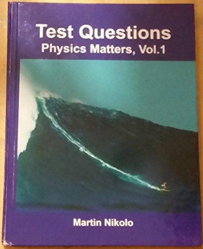 9780974163871: Test Questions, Physics, Vol. 1, St. Louis University