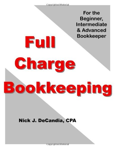 9780974219509: Full Charge Bookkeeping