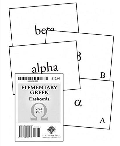 9780974239163: Elementary Greek Koine for Beginners, Year One Flashcards