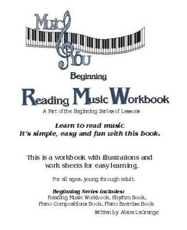 9780974258171: Beginning Reading Music Workbook