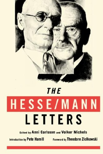 9780974261553: The Hesse/Mann Letters