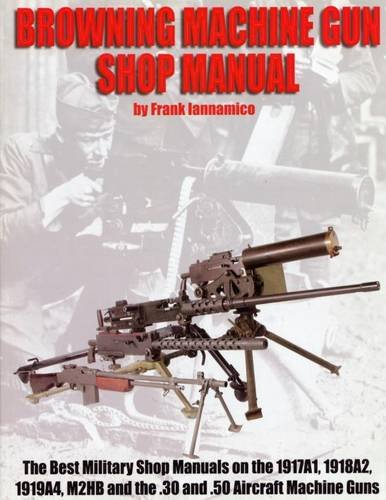 Browning Machine Gun Shop Manual, the Best: Frank Iannamico