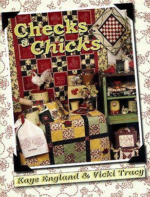 9780974293233: Checks & Chicks Quilt Book