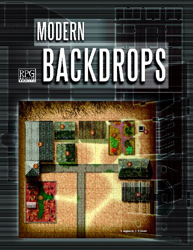 9780974306704: Modern Backdrops (d20 3.5 Modern Roleplaying)