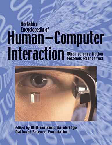 9780974309125: Berkshire Encyclopedia of Human-Computer Interaction: 2 Volume Set