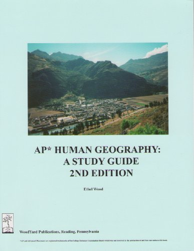 9780974348117: AP Human Geography: A Study Guide, 2nd edition