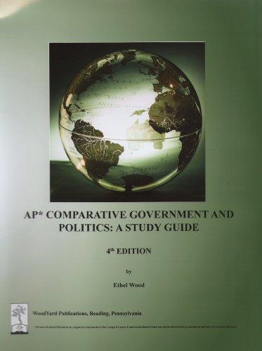 9780974348179: AP Comparative Government and Politics: a Study Guide, 4th edition