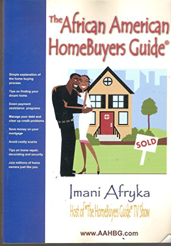 9780974352602: African American Homebuyers Guide: Homebuying Information for Us