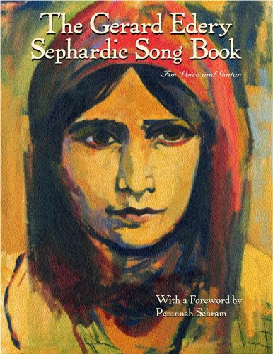 9780974417509: The Gerard Edery Sephardic Songbook: for Voice and Guitar
