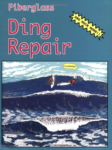 Fiberglass Ding Repair: Franklin Pierce