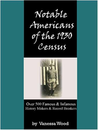 9780974428109: Notable Americans of the 1930 Census