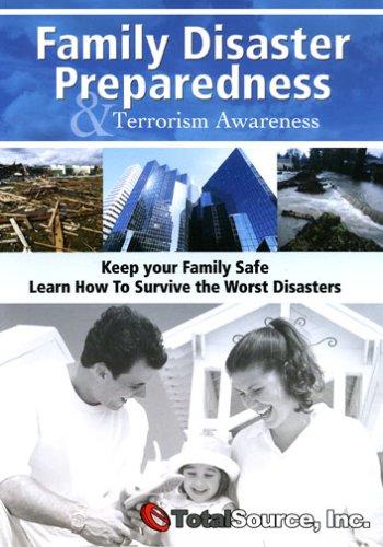 9780974432519: 2 disc set DVD on Family disaster preparedness and terrorism awareness