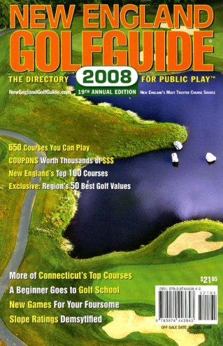 9780974443843: New England Golfguide: The Directory for Public Play