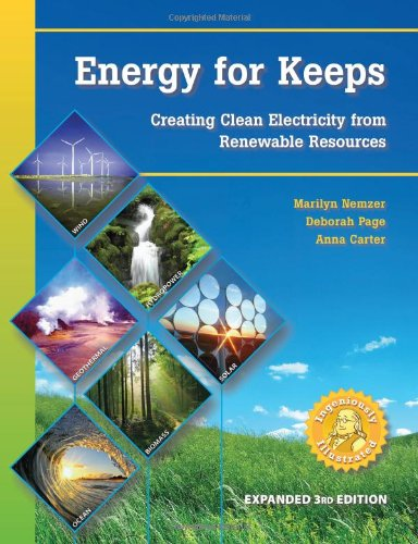 9780974476551: Energy for Keeps: Creating Clean Electricity from Renewable Resources