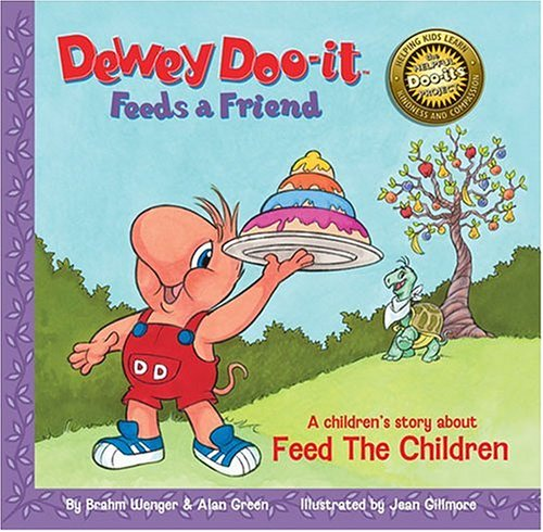 9780974514338: Dewey Doo-it Feeds a Friend: A Musical Storybook Inspired by Feed The Children