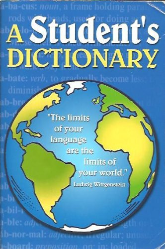 9780974529288: A Student's Dictionary