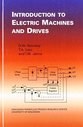 9780974547046: Introduction to Electric Machines and Drives