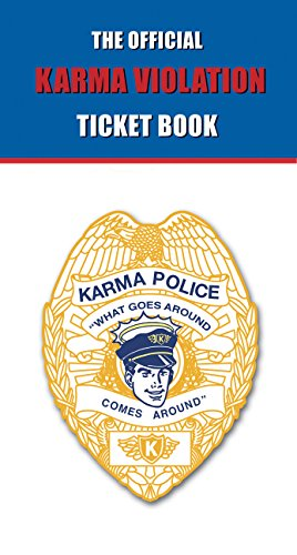 9780974587714: The Official Karma Violation Ticket Book