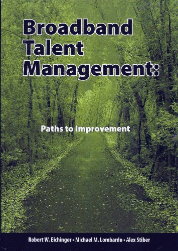 9780974589299: Broadband Talent Management: Paths to Improvement