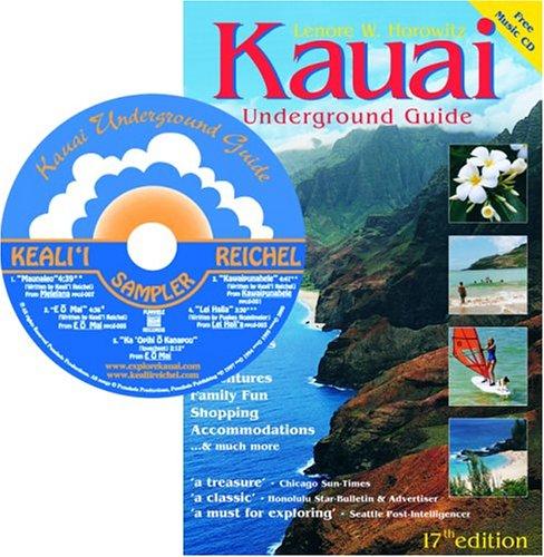 9780974595603: Kauai Underground Guide (Book & Audio CD, 17th Edition)