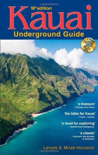 9780974595610: Kauai Underground Guide: And Free Hawaiian Music CD