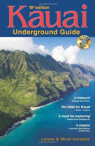 9780974595634: Kauai Underground Guide: 19th Edition — And Free Hawaiian Music CD