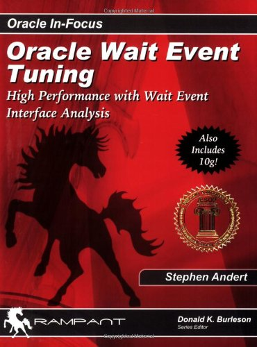 9780974599373: Oracle Wait Event Tuning: High Performance with Wait Event Interface Analysis (Oracle In-Focus series)
