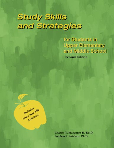 9780974599922: Study Skills and Strategies for Students in Upper Elementary and Middle School - Second Edition