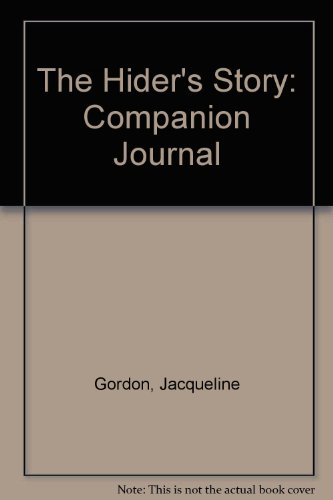9780974619200: The Hider's Story: Companion Journal