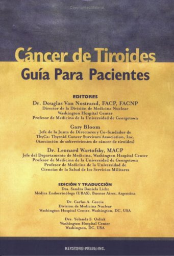 9780974623917: Title: Cancer de Tiroides Guia Para Pacientes Spanish Edi
