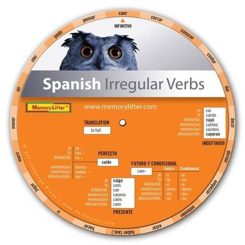 9780974647340: Verbwheel. Spanish Irregular Verbs (Spanish Edition)