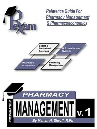 Reference Guide for Pharmacy Management & Pharmacoeconomics: Manan H. Shroff
