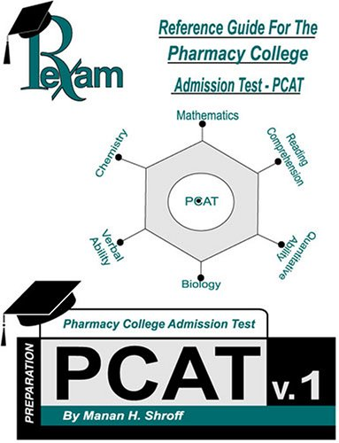9780974654423: Reference Guide for the Pharmacy College Admission Test PCAT