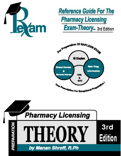 Reference Guide for Pharmacy Licensing Exam -: Manan Shroff