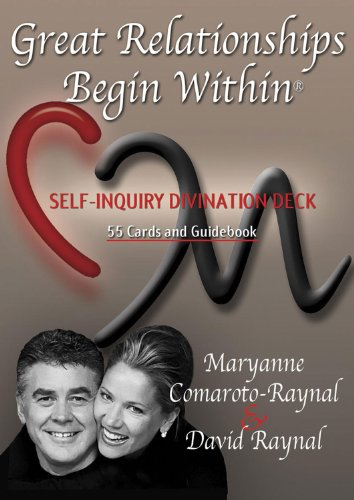 9780974661032: Great Relationships Begin Within: Self-Inquiry Divination Deck