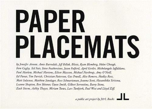 9780974690810: Paper Placemats