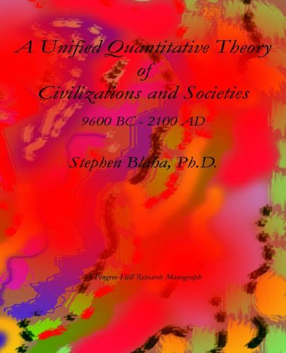 9780974695853: A Unified Quantitative Theory of Civilizations and Societies: 9600 BC - 2100 AD