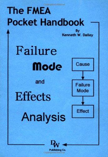 FMEA Pocket Handbook: Failure Mode and Effects: Kenneth W. Dailey