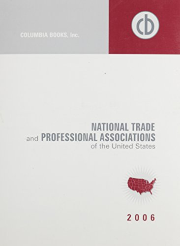 9780974732282: National Trade and Professional Associations of the United States (National Trade & Professional Associations)
