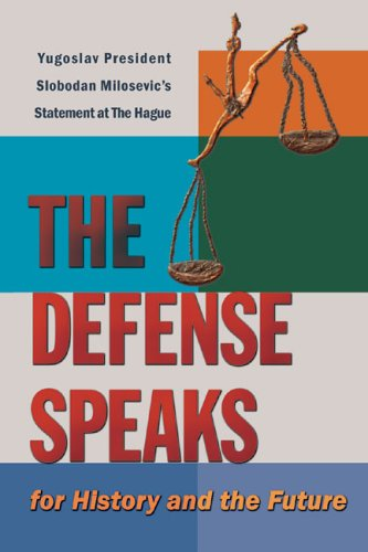 9780974752129: The Defense Speaks: For History and the Future