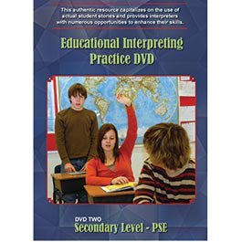 9780974788999: Educational Interpreting Practice DVD 2: Secondary Level - PSE