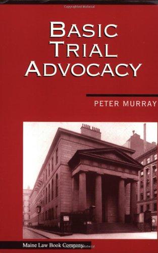 9780974794402: Basic Trial Advocacy