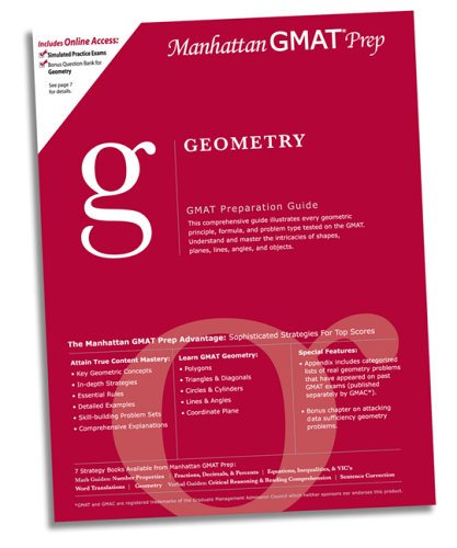 Geometry GMAT Preparation Guide (Manhattan Gmat Prep): Manhattan GMAT Prep