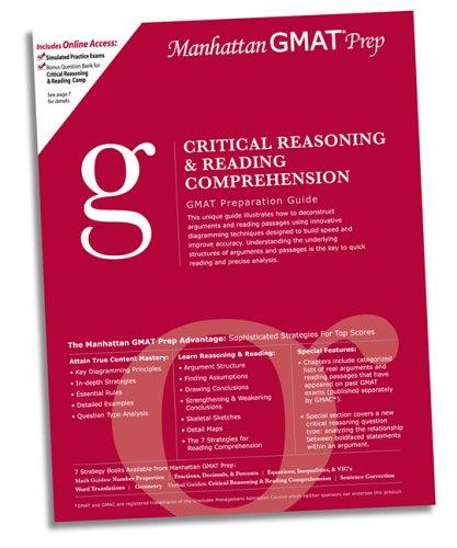 Critical Reasoning & Reading Comprehension GMAT Preparation: Manhattan GMAT Prep